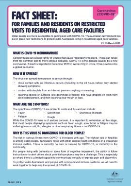 Dept Health Covid Fact Sheet 2020-03-min